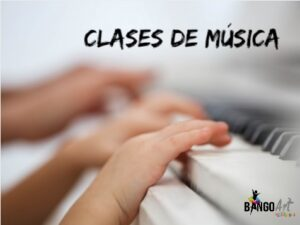 anuncio clases de música