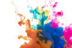 salpicadura color